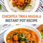 Instant Pot Tikka Masala With Chickpeas & Sweet Potatoes