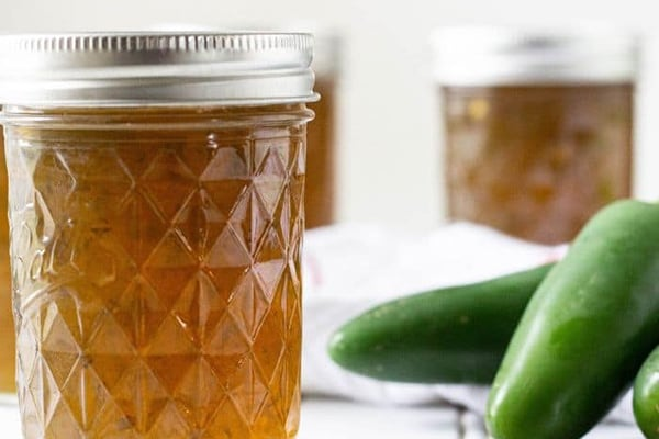 Instant Pot Jalapeno Jelly Recipe for Canning