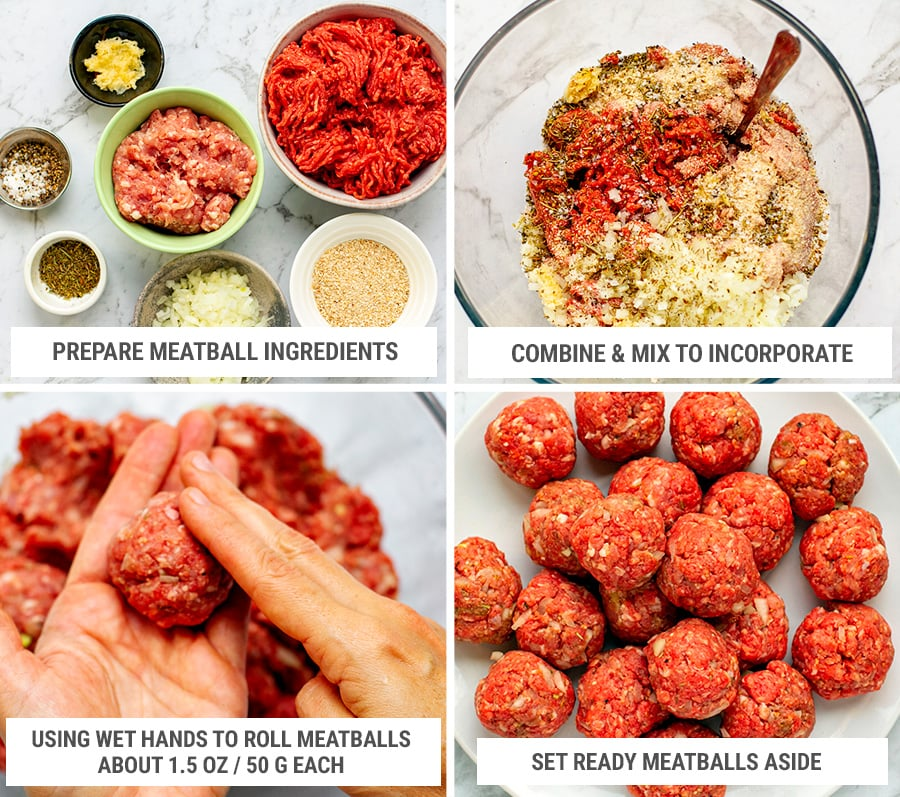 How to make meatballs for Instant Pot