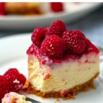 Instant Pot Raspberry Lemon Cheesecake