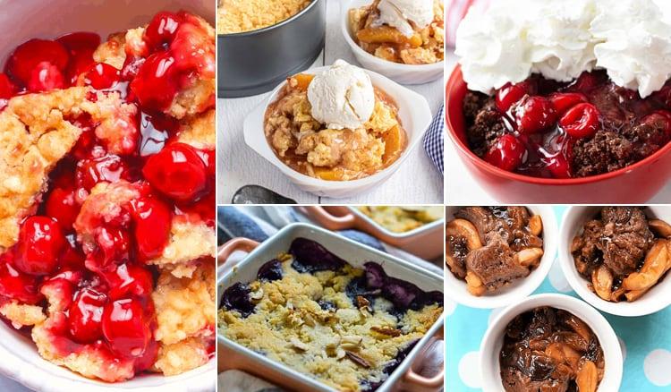 Instant Pot Cobbler Recipes Using Fruit & Berries