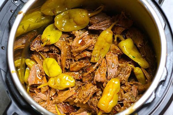 Instant Pot Mississippi Pot Roast