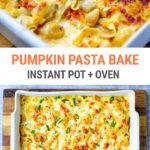 Instant Pot Pumpkin Pasta Bake (Only 5 Ingredients!)