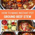 Ground Beef Stew With Potatoes (Instant Pot Recipe)
