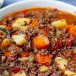Instant Pot Ground Beef Stew With Potatoes Recipe