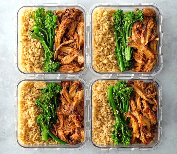 Instant Pot Lunch Meal Prep Char Siu Pork