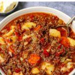 Pressure Cooker Ground Beef Stew (Instant Pot, One-Pot)