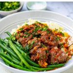 Instant Pot Braised Beef Cheeks