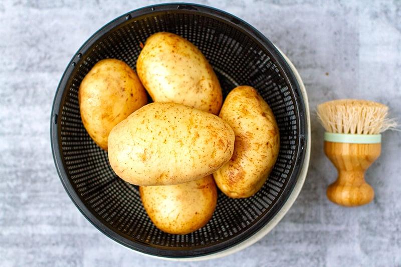 Whole potatoes Instant Pot recipe