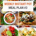 Instant Pot Meal Plan #3 (Vegetarian Edition)